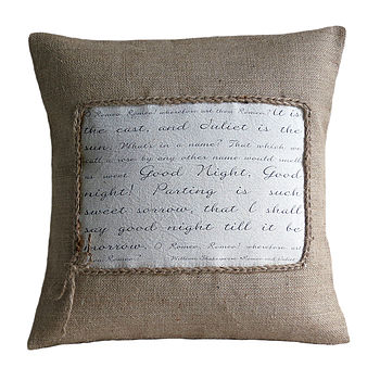 Personalised Poem Cushion Cover