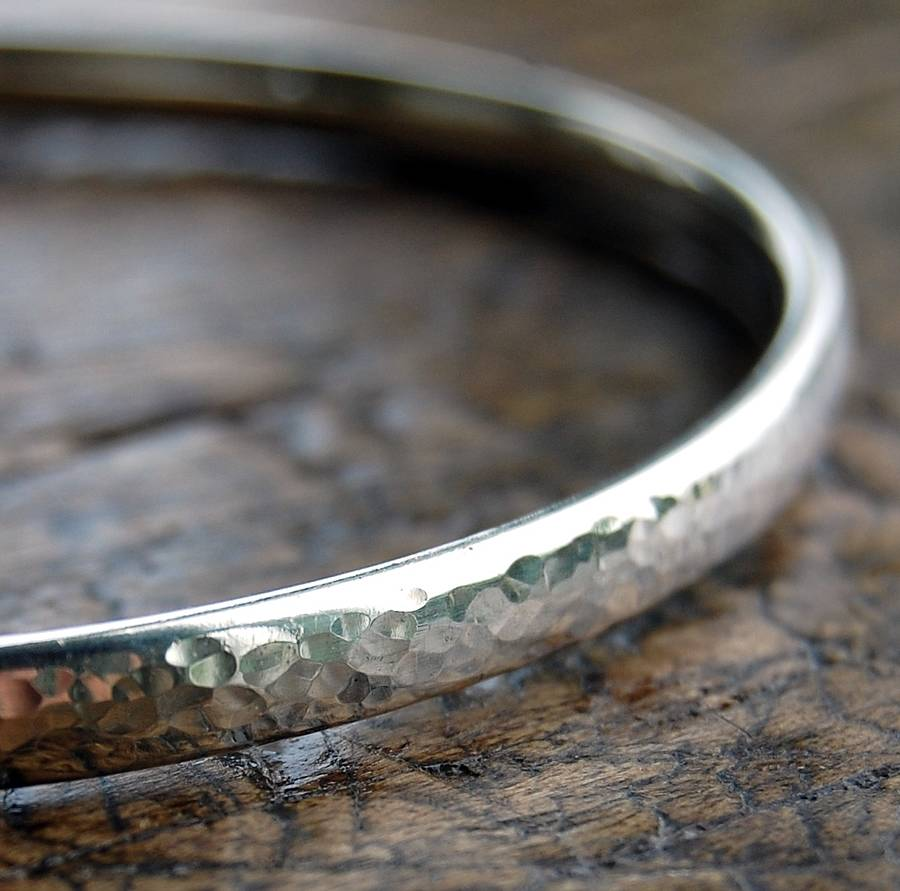 bangle silver sterling by hammered alison designs original handmade bangles simple product alisonmooredesigns moore