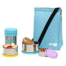 Sky Lunch Bag with accessories