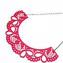 Perspex Lace Collar