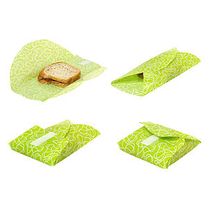 Reusable Food Kozies - Pack Of Two - lunch boxes & bags