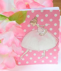 Ballerina Notebook - create & make