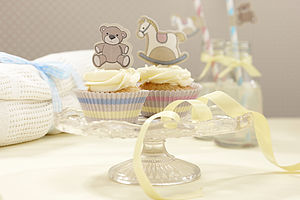Rocking Horse & Teddy Cupcake Cases & Toppers - sale by category