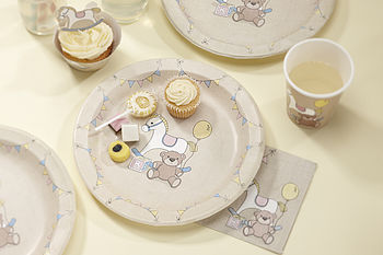 Rock A Bye Baby Party Paper Plates