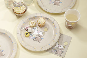Rock A Bye Baby Party Paper Plates - baby shower styling and gifts