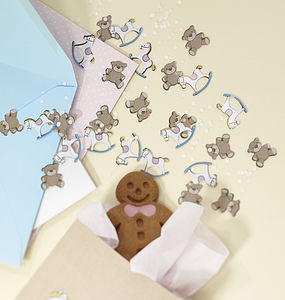 Rock A Bye Baby Table Party Confetti