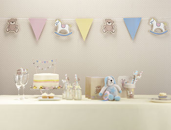 Rock A Bye Baby Paper Bunting