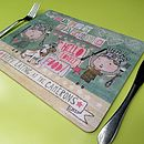 Set Of Personalised Placemats