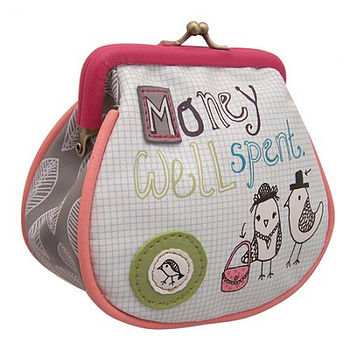 'Money Well Spent' Purse