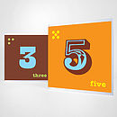 Child's Number Birthday Card