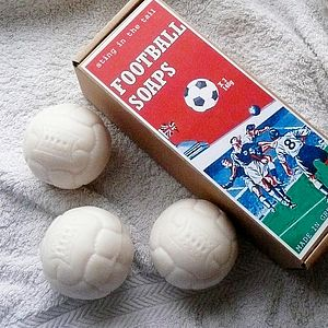 Football Soap Gift Set - men's grooming & toiletries