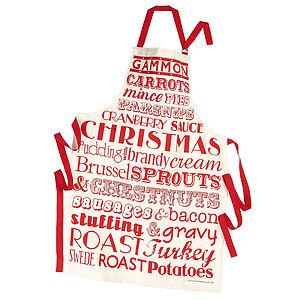 Christmas Dinner Apron - aprons