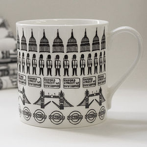 Illustrated St Paul's Mug