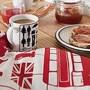 Airfix London Tea Towel
