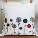 Flower Garden Cushion Cover