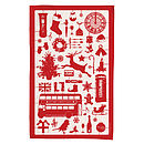 Airfix Christmas Tea Towel