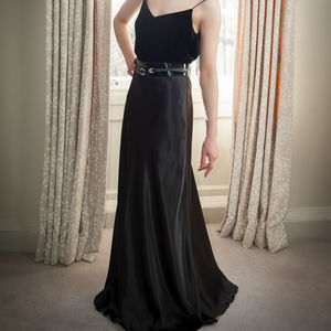 Mary - Vintage Inspired Bias Cut Gown - bridal fashion & accessories