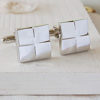 Square Tile Cufflinks