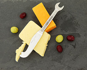 Spanner Cheese Knife - gifts for foodies