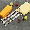 Spanner Cutlery - Set Of Mini Cheese Knives