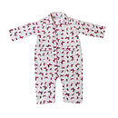Hand Printed Butterfly Onesie