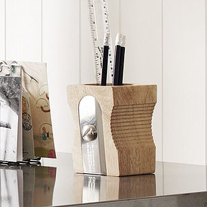 Giant Pencil Sharpener Desk Tidy - desk accessories