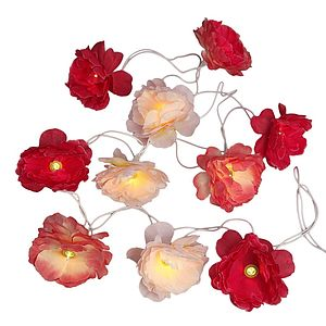 Gardenia Flower Fairy Lights - lighting