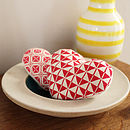 Four Hanging Hearts Sewing Kit
