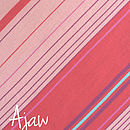 Ajaw - Pink Striped Scarf
