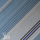 Yax - Blue Striped Scarf
