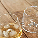 Whisky Glasses - Set Of Two In A Gift Box