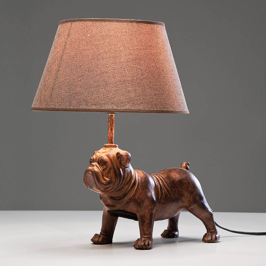 Decorative Pug Table Lamp By I Love Retro