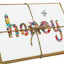 'Honeybee' Illustrated Notecards