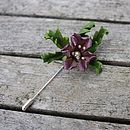 Potpourri Hedgerow Lapel Pin