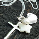 Star Christening Necklace
