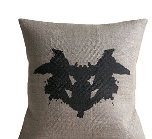 Rorschach Ink Blot Cushion - cushions