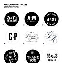 Personalised Stickers Sheet Of 35