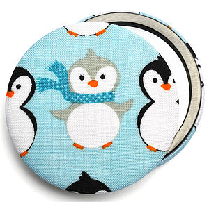 Christmas Stocking Filler Penguin Mirror - stocking fillers under £15