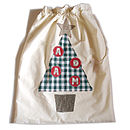 Personalised Santa Sack with 4 letter name
