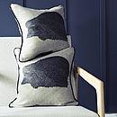 Tiggy Linen Hedgehog Cushion