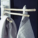 Tea Towel Twiggy Rail