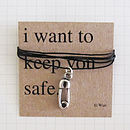 'Keep You Safe' Token Necklace