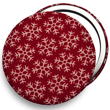 Stocking Filler ''Snowflakes'' Christmas Mirror