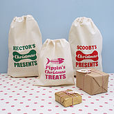 Personalised Pet Christmas Gift Sack - pets