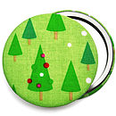 Christmas Trees Stocking Filler Mirror
