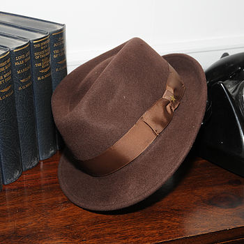 Boston Wool Felt Trilby