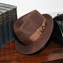 'Boston' Wool Felt Trilby Hat