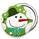 Stocking Filler Snowman Christmas Mirror