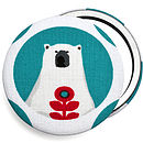 ''Christmas Polar Bear'' Stocking Filler Mirror