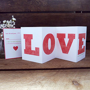 Esther Mini Concertina Wedding Invitation
